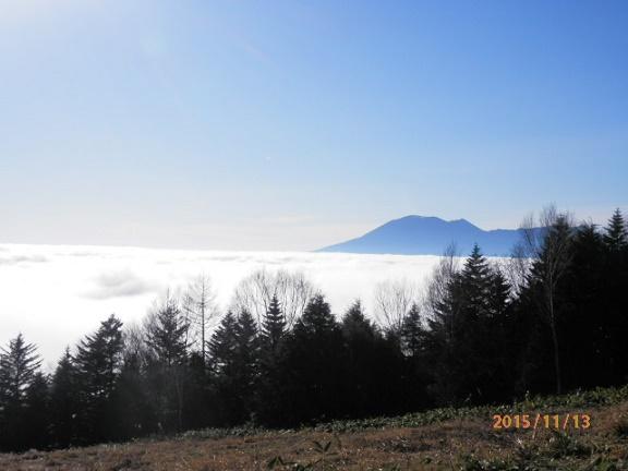 ゲレンデの浅間山