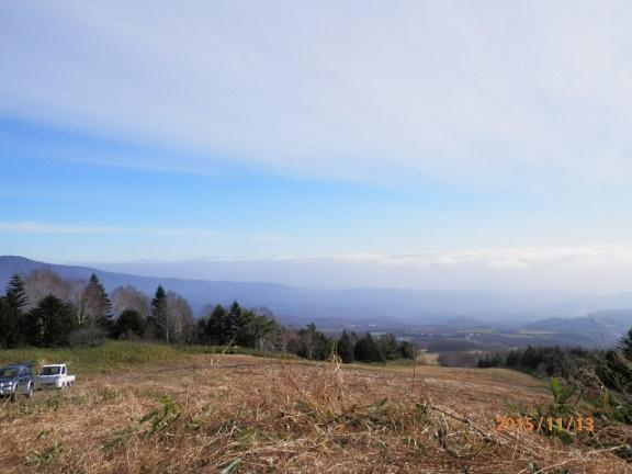 ゲレンデよりの雲海