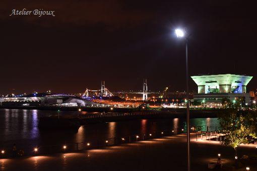 003-大桟橋方面夜景