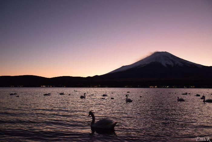 003-Emi-山中湖-富士山