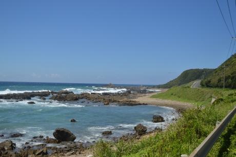 13爽快な海とキツい坂