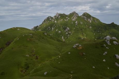 17いったん降って登る永田岳