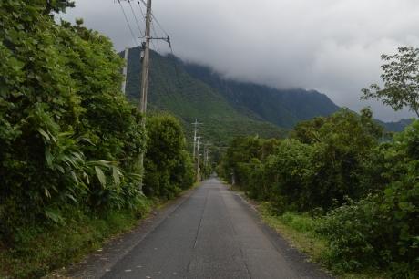 2滝へと向かう道