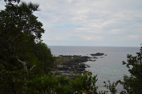12海を眺める