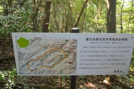 3原生自然環境保全区域