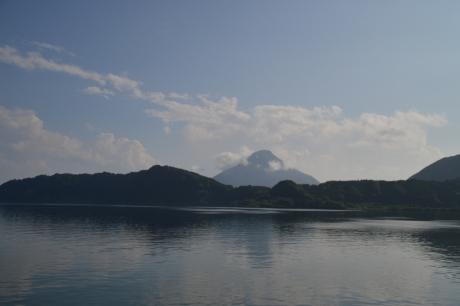 8池田湖と開聞岳