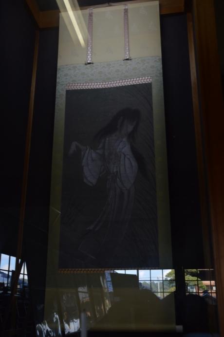 7幽霊の掛け軸