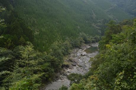 5球磨川が細く・・・
