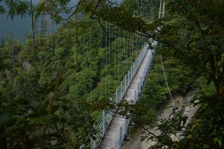 10立派な吊り橋だ