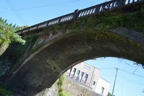 5金内石橋の下