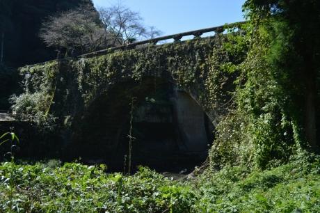 4いきなりであった蔦まみれの石橋