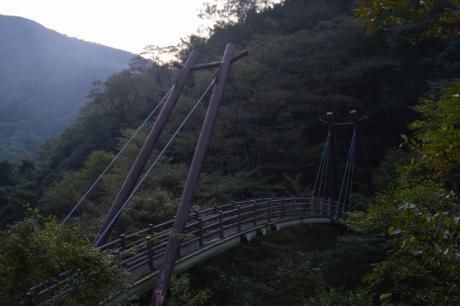 21吊り橋はちょっとがっかり