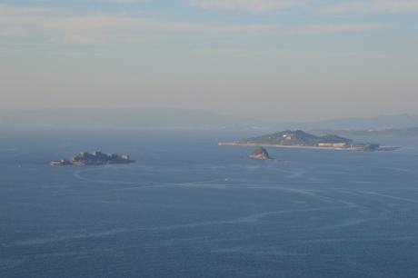 17軍艦島と高島