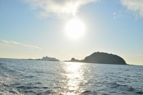 26中ノ島と端島
