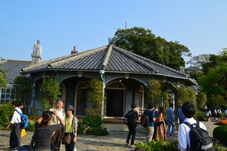 13グラバー邸は世界遺産