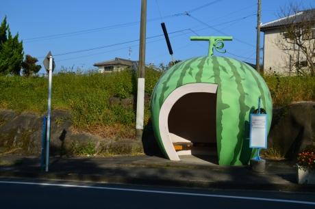 5フルーツバス停