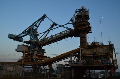 6三池港の機械
