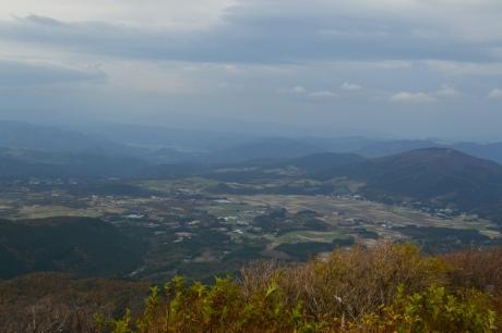 19飯田高原を見下ろす