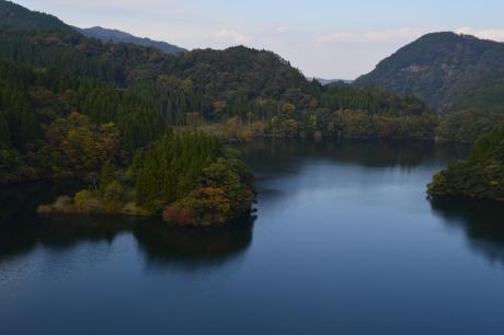 12ダム湖多いね九州