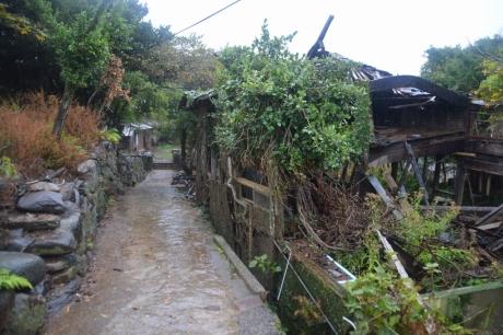 6石垣の道