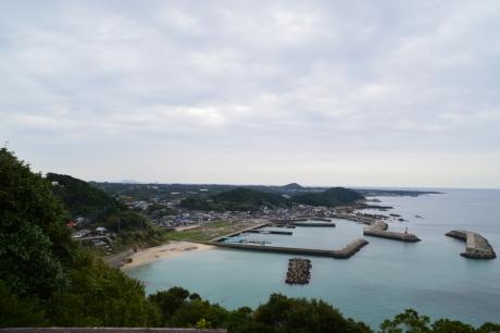 22富江の港