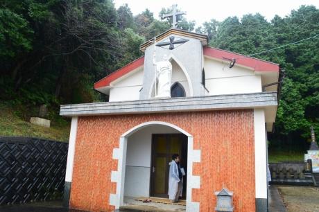 6跡地に建てられた教会