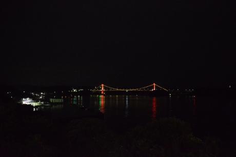 3夜の平戸大橋