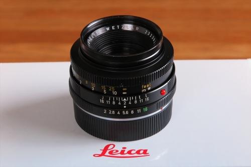 LEICA SUMIMICRON F2 50mm 1