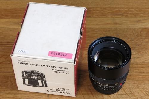 LEICA SUMMILUX-R F1.4 80mm 3