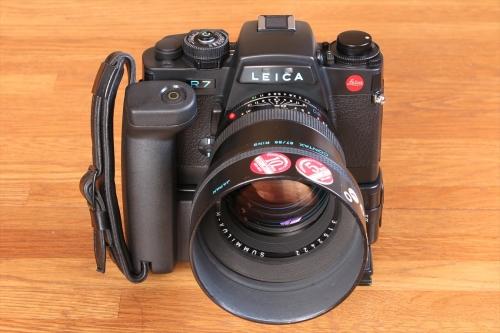 LEICA SUMMILUX-R F1.4 80mm 10