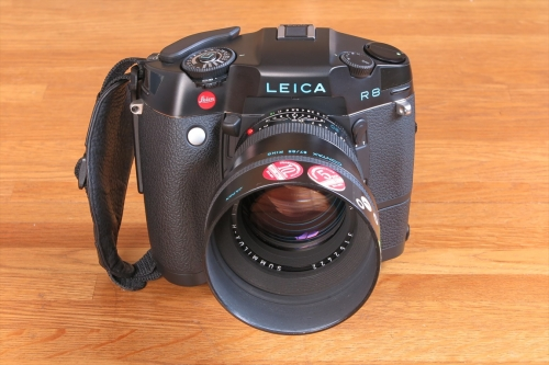 LEICA SUMMILUX-R F1.4 80mm 14