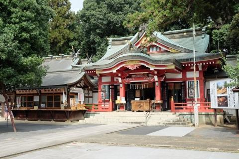 02日枝神社2:拝殿