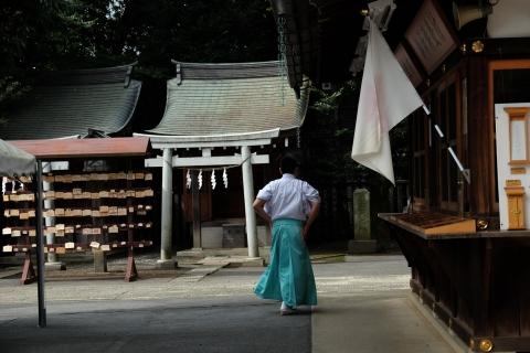 04日枝神社4:宮司