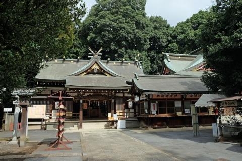 03日枝神社3:拝殿