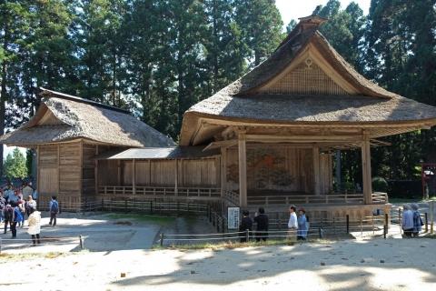 34中尊寺:白山神社能楽殿