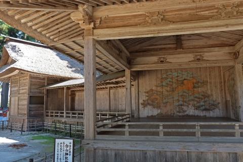 35中尊寺:白山神社能楽殿