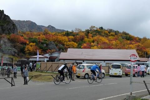 39栗駒高原:サイクリスト