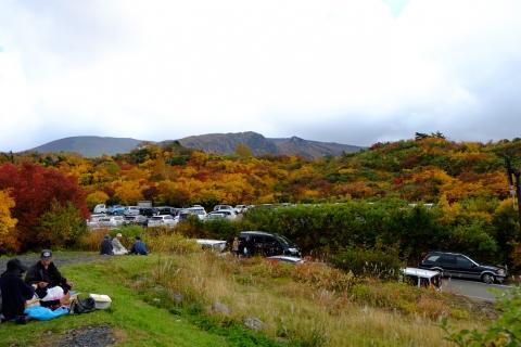 40栗駒高原:駐車場