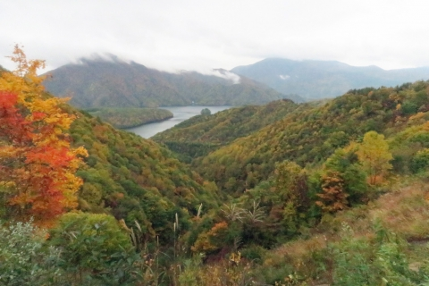 48秋本湖へ