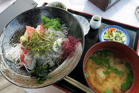 11a浜辺:マグロと生シラス丼