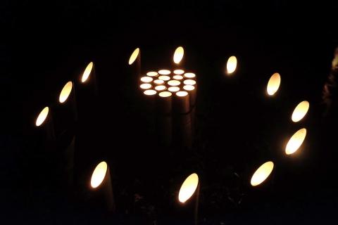 09小机城址竹燈籠まつり