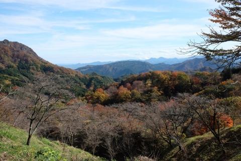 25妙義山からの眺め