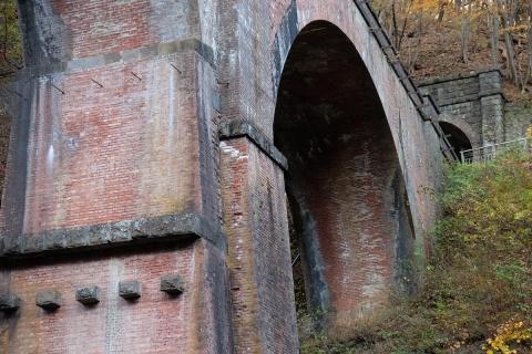 40碓氷峠へメガネ橋
