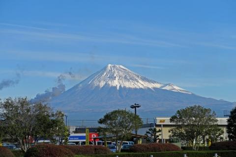 02新富士駅からの富士山