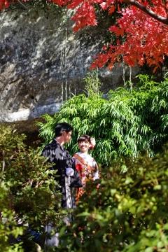 14海蔵寺新郎新婦