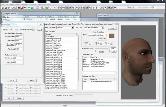 Skyrim 「CK」操作練習過程画像