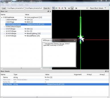 nifscope作業画面