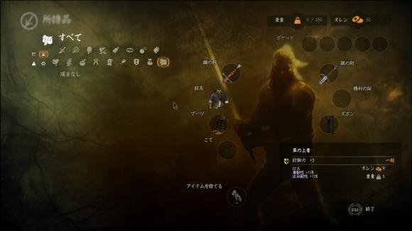 The Witcher 2 mod Zero Weight by mem