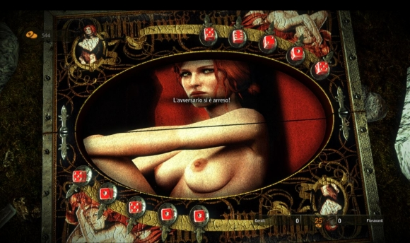 The Witcher 2 mod Hot Dices and Board CONTAIN NUDITY