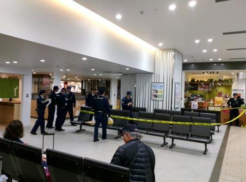 金沢駅封鎖